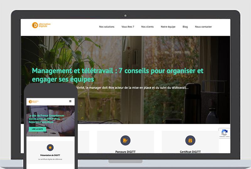 Création, intégration de pages html